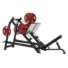 Leg Press Steelflex Plateload Line PLDP - černo-červená