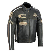 Bunda na motocykl BOS 2058 Antique Black