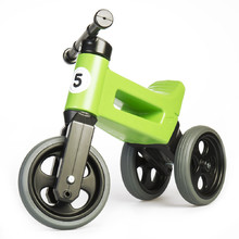 Odrážedlo FUNNY WHEELS Rider Sport 2v1 - Racing Green