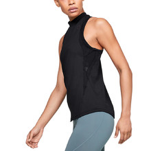 Dámské triko Under Armour Rush Vent Tank - Black