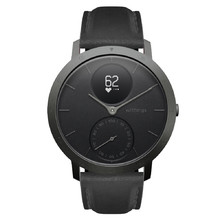 Chytré hodinky Withings Steel HR (40 mm) Slate Grey/Black