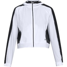 Dámská mikina Under Armour Storm Woven FZ Jacket - White