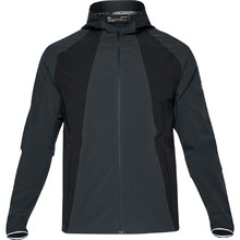 Pánská běžecká bunda Under Armour Outrun The Storm Jacket - Anthracite