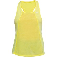 Dámské tílko Under Armour Threadborne Fashion Tank - Tokyo Lemon Full Heather