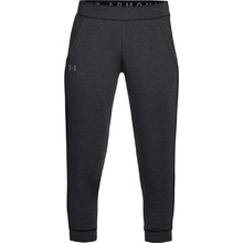 Dámské legíny Under Armour Featherweight Fleece Crop - Black
