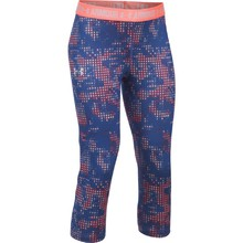 Dívčí legíny Under Armour Printed Armour Capri