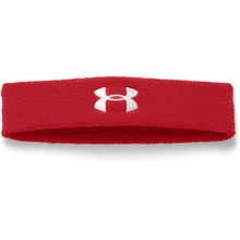 Pánská čelenka Under Armour Performance Headband - Red/White