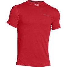 Pánské triko Under Armour Charged Cotton SS T - Brick Red