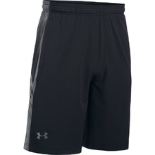 Pánské kraťasy Under Armour Supervent Woven Short - Black/Graphite