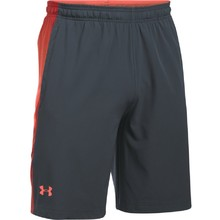 Pánské kraťasy Under Armour Supervent Woven Short - Gray/Orange/Red