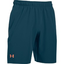 Pánské šortky Under Armour Center Court 8in Woven Shorts - Blue Whale/Atomic Gray/Salmon