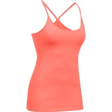 Dámské tílko Under Armour Favorite Shelf Bra Cami - Orange/Pink