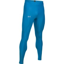Pánské kompresní legíny Under Armour NoBreaks HG Novelty Tight - Cerulean/Cerulean/Reflective