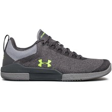 Dámské tréninkové boty Under Armour W Charged Legend TR Hypersplice - Rhino Gray/Steel/Quirky Lime