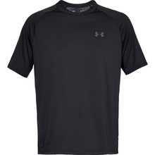 Pánské triko Under Armour Tech SS Tee 2.0 - Black/Graphite