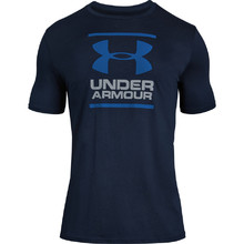 Pánské triko Under Armour GL Foundation SS T - Academy/Steel/Royal