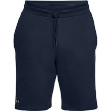Pánské kraťasy Under Armour Rival Fleece Short - Black/Black