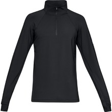 Pánská běžecká bunda Under Armour CG Reactor Run Half Zip v2 - Black/Black/Reflective