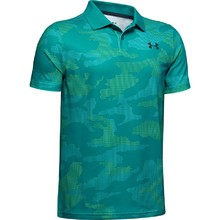Chlapecké tričko Under Armour Performance Polo 2.0 Novelty - Teal Rush