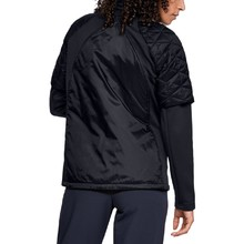 Dámská prošívaná bunda Under Armour CG Reactor Golf Hybrid Jacket - Black