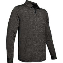 Pánské triko Under Armour UA Long Sleeve Playoff 2.0 Polo - Black