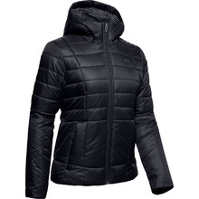 Dámská bunda Under Armour UA Armour Insulated Hooded Jkt - Black