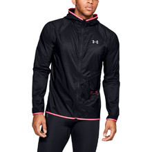Pánská bunda Under Armour Qualifier Storm Packable Jacket - Black