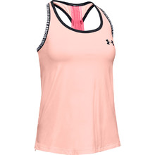 Dívčí triko Under Armour Knockout Tank - Peach Frost
