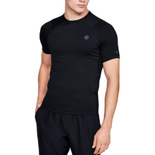 Pánské kompresní triko Under Armour HeatGear Rush Compression SS - Black