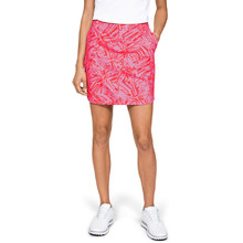 Golfová sukně Under Armour Links Woven Printed Skort - Lipstick