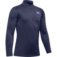 Chlapecká mikina Under Armour Tech 2.0 1/2 Zip - Blue Ink