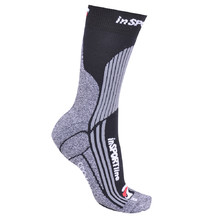 Multifunkční ponožky inSPORTline - COOLMAX   ionty stříbra - černá fc1a1145f6