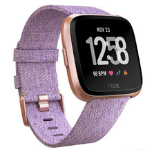 Pulsmeter Fitbit Versa Lavender Woven