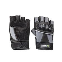 Kožené bezprsté moto rukavice W-TEC Reubal NF-4190 - černo-šedá 2b20d69d36