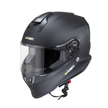 Moto přilba W-TEC Integra Solid - Matt Black