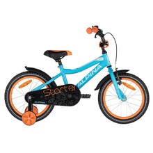 "Dětské kolo ALPINA Starter 16"" - model 2020 - Blue Orange"