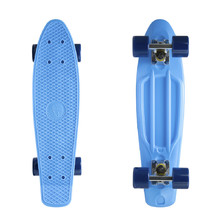 "Penny board Fish Classic 22"" - Blue-Silver-Navy"