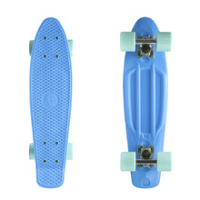 "Penny board Fish Classic 22"" - Blue-Silver-Summer Green"