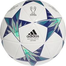 439614784b4 Fotbalový míč Adidas Capitano Finale 18 Kiev CF1198 bílo-modrá