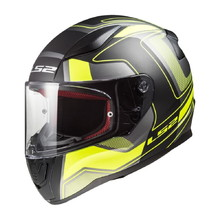 Moto přilba LS2 FF353 Rapid Carrera Black H-V Yellow