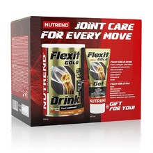 Kloubní výživa Nutrend Flexit Gold Drink 400 g + Flexit Gold Gel