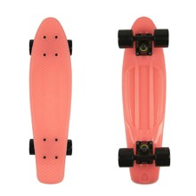 "Svítící penny board Fish Classic Glow 22"" - Red-Black-Black"