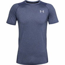Pánské triko Under Armour Raid 2.0 SS Left Chest - Blue Ink
