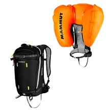 Lavinový batoh Mammut Light Protection Airbag 3.0 30l - 2.jakost - Phantom
