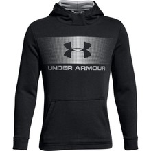 Dětská mikina Under Armour Ctn French Terry Hoody - Black/White/White