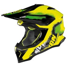 Enduro helma Nolan N53 Lazy Boy LED Yellow
