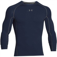 Pánské kompresní triko Under Armour HG Armour LS - Midnight Navy