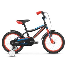 "Dětské kolo Kross Racer 4.0 16"" - model 2019 - Black / Red / Blue Glossy"