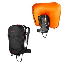 Lavinový batoh Mammut Ride Removable Airbag 3.0 30l - Black