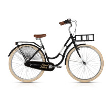 "Městské kolo KELLYS ROYAL DUTCH 28"" - model 2017 - Black"